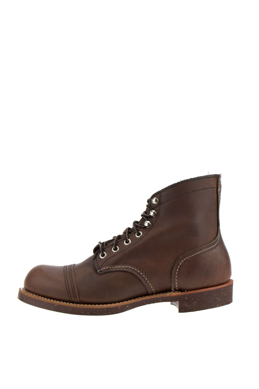 Red Wing 8111 Iron Ranger Boots Amber Harness braun