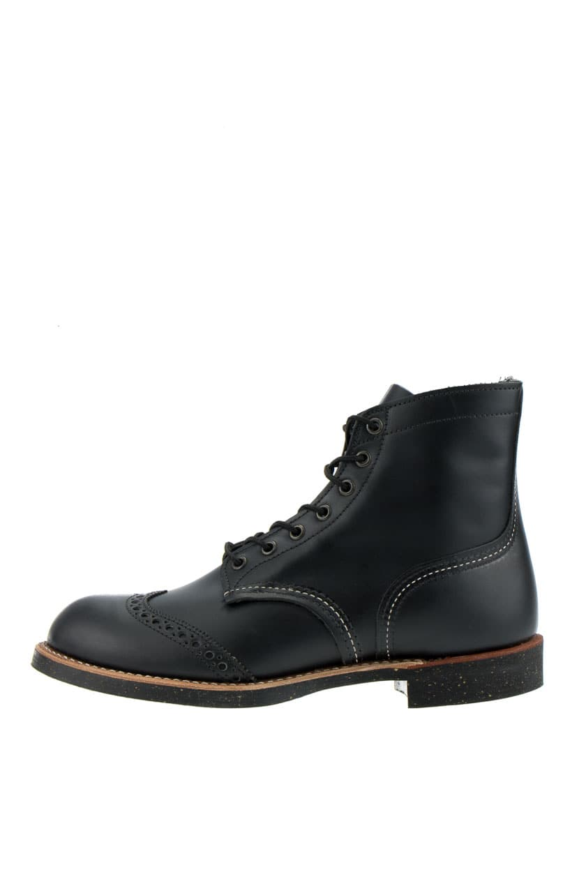 red wing 8126 brogue ranger boots black chaparral schwarz. Black Bedroom Furniture Sets. Home Design Ideas