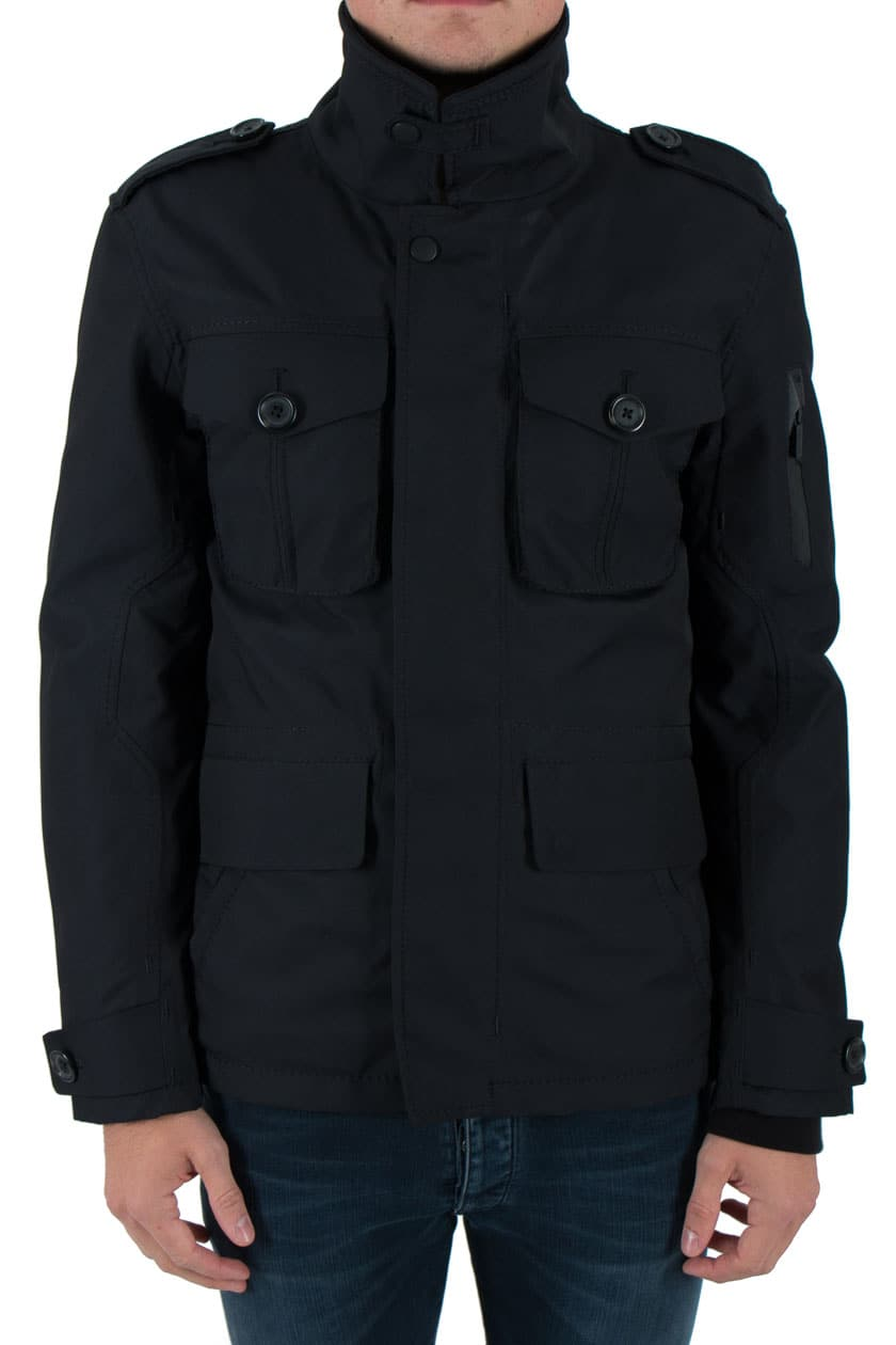 g lab field jacket winter jacke m nner dark navy dunkel. Black Bedroom Furniture Sets. Home Design Ideas
