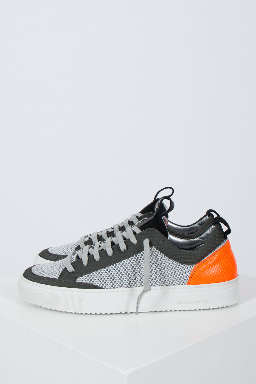 P448 A8SOHOWHI TEC Low Sneaker white orange | P2MODE & ACCESSOIRES