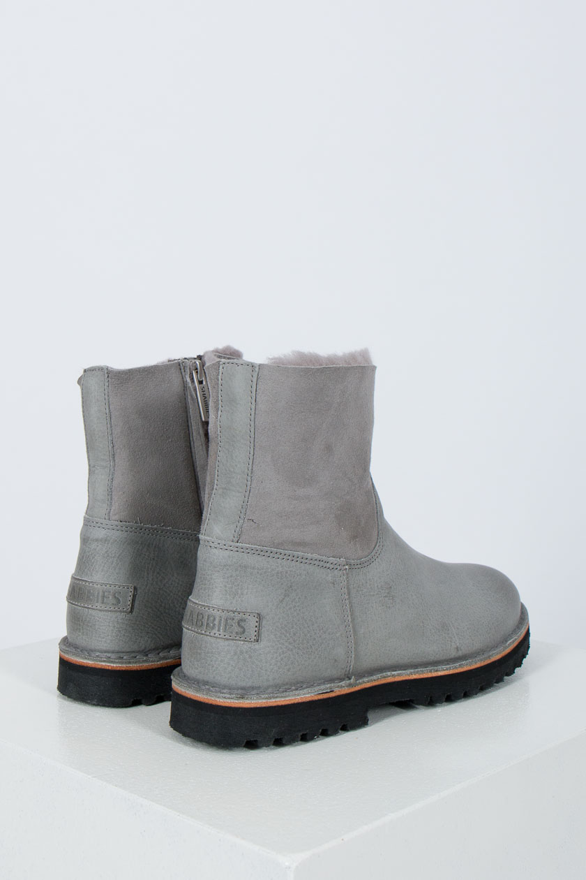 Shabbies Amsterdam 181020115 Ankle Boot Waxed Leather
